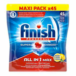 Finish Powerball Tout en 1 Citron x45 à 7,49 €