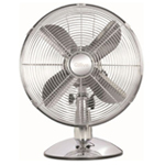 Qilive Ventilateur de Table Q.5602/134480 Chrome à 32,90 €