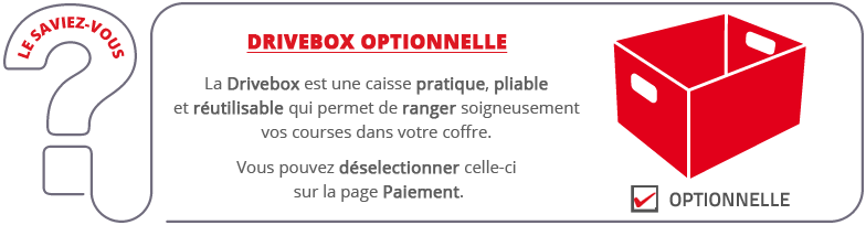 Drivebox optionnelle